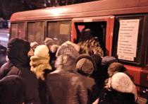 Хабаровчане штурмуют автобусы
