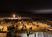Крещенский лед затрещал под ногами жителей Петрозаводска