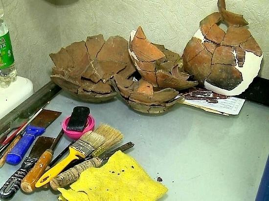 Интересные археологические находки обнаружили в Хабаровске