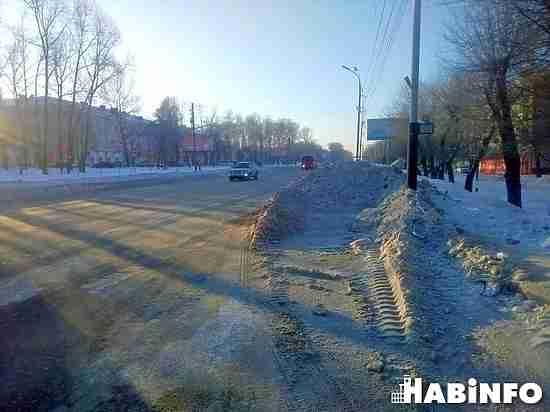 На дорожников подали в суд за уборку снега в Хабаровске