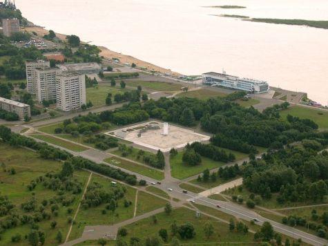 Комсомольск-на-Амуре фото города с вераталёта 2.
