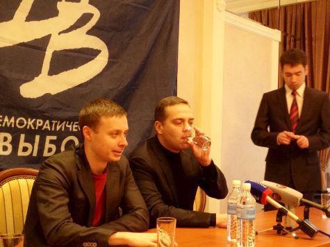 демократический выбор алексей ворсин владимир милов хабаровский край